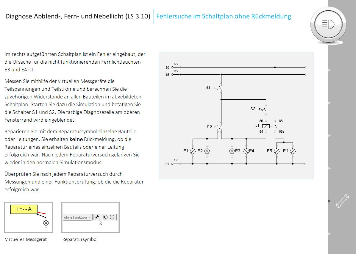 Fantastisch Kfz Schaltpläne Software Galerie - Der Schaltplan ...